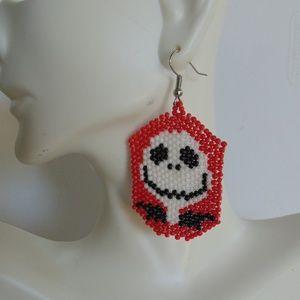 Halloween Earrings, Skull Earrings